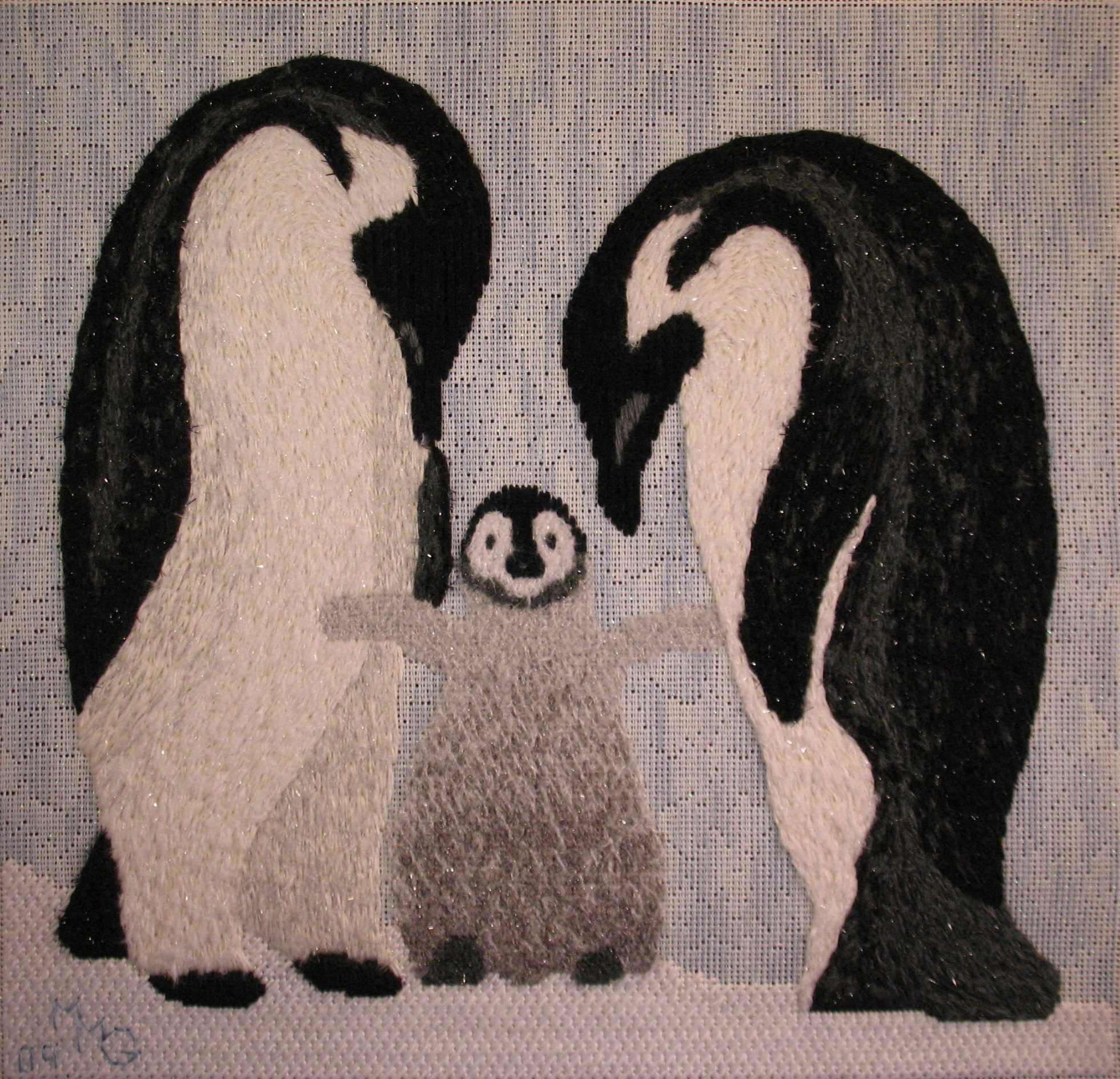 Penguin Family Drawing 6 Comments