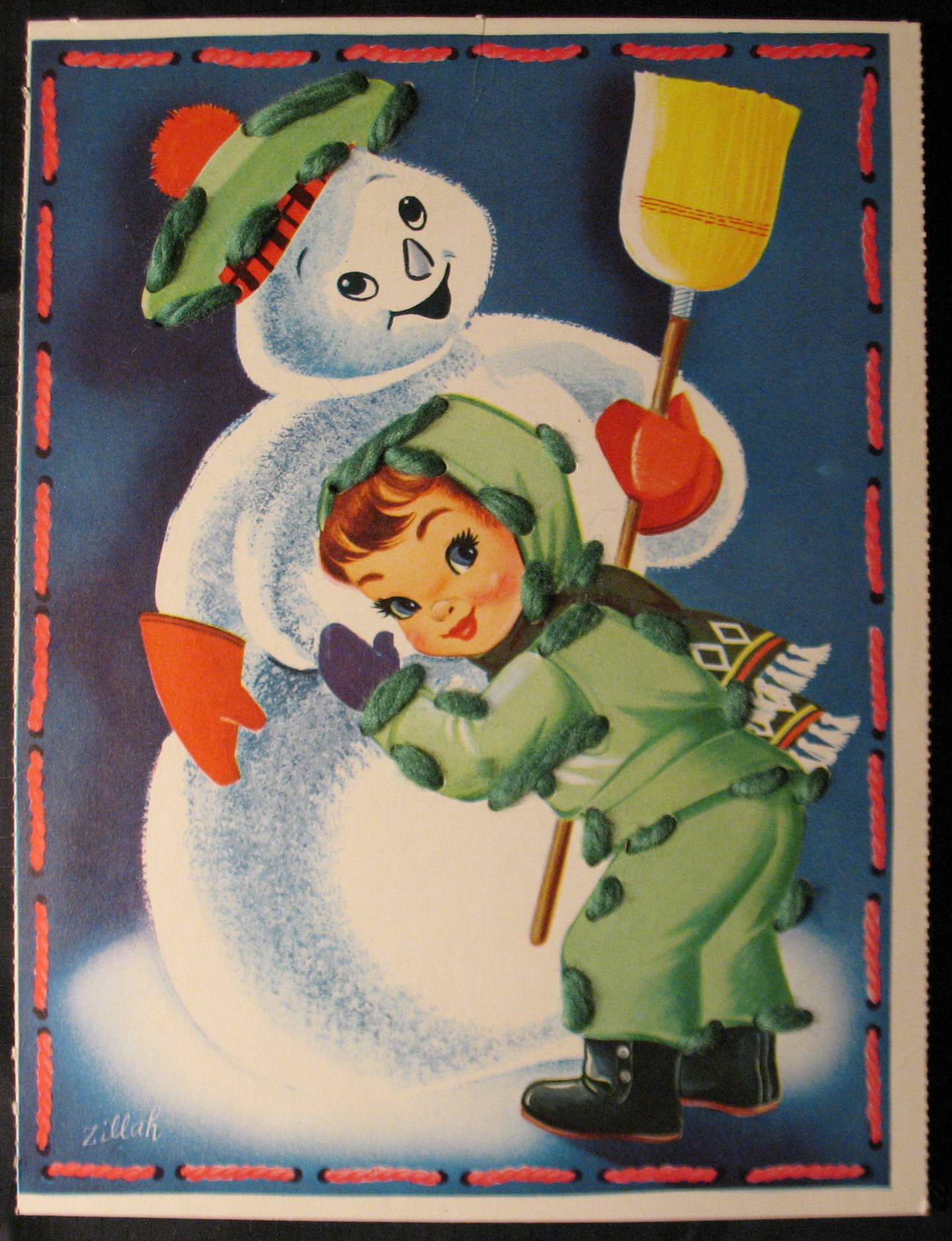 Frosty on pinterest vintage christmas cards snowman and
