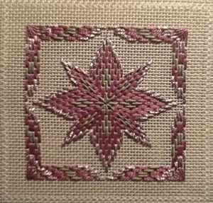 Bargello Ornament