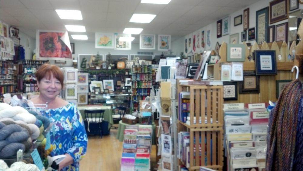 Needlepoint Visit to Rochester & Canandaigua, NY (3/6)
