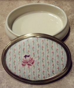 Rose petit point