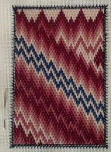 Bargello Techniques, Section 2