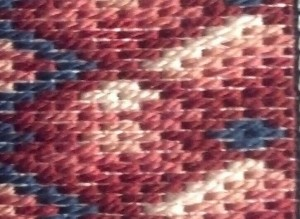 Close-up right pattern