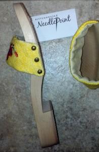 Sandals - construction
