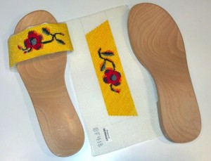 Sandals - stitched