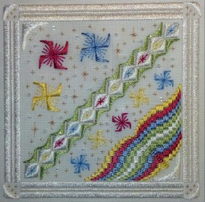 Jeannie's Windmills with border