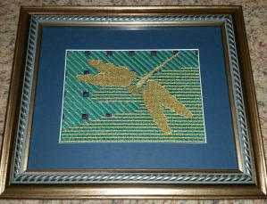Dragon Fly Framed