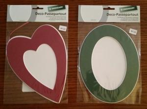 Heart Oval frame