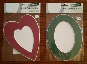 Heart Oval frame