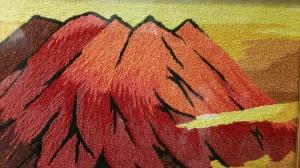 Volcano closeup