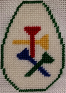 Golf Tee Keychain