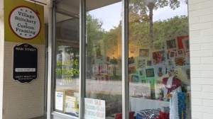 Village Stitchery Window